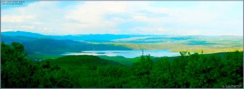 Uzunsavat barajı Salireşiyan dan görünüm